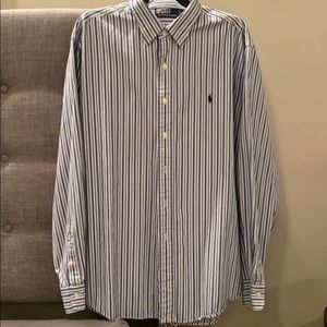 Men's Polo Ralph Lauren striped dress shirt